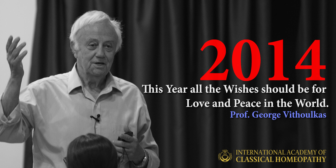 Wishes from Prof. George Vithoulkas